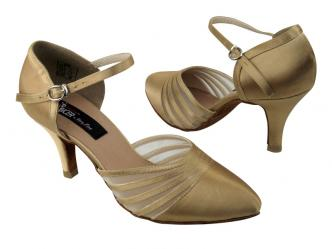 dance shoes women tan satin